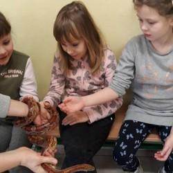 Lekcje opieki nad zwierzętami